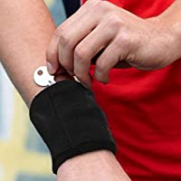 Wristband Wallet, Cartera de Muñeca Outdoor Sport Running Jogging Exercise Gym Wrist Band Wristband Wallet para Correr, Fitness, Ciclismo, Senderismo, Camping, Deportes,5 Colores