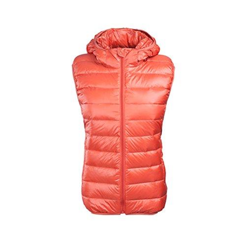 ボーナス防腐剤小数Zhhlinyuan 女性の Fashion Winter Outdoor Vest Jacket Windproof Camping Hiking Sleeveless Coat