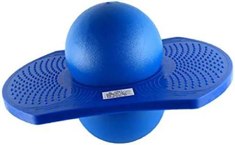ZT-TTHG 2PCSキッズ屋内&屋外スペースホッパーバランスボードジャンプ弾むポゴボール遊び場スポーツエクササイズフィットネスのおもちゃ