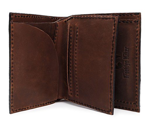 04 Handmade Tribal Natural Men's b Horses MHLT Tribal 18 Horse Leather Wallet Genuine 8FC6q