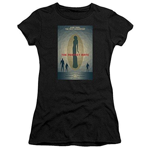 Star Trek: The Next Generation The Perfect Mate Juan Ortiz Poster Women's Bella Brand T Shirt