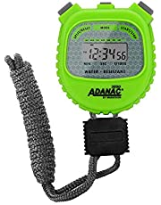 Marathon ADANAC 3000 - Cronómetro digital, resistente al agua, batería incluida