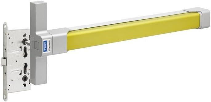 Tesa Assa Abloy TOP3S128LG Barra Antipánico Top, Lima/Gris, 1.200 mm