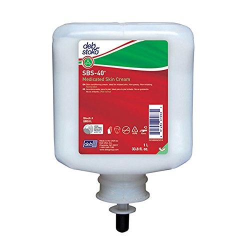 Deb Group SBS 40 Medicated Skin Cream, 1 L, 6/Case by Stoko