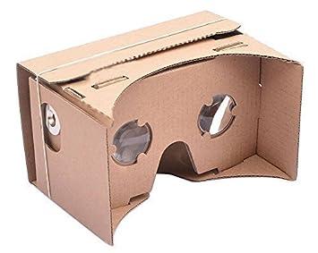 Diy Google Cardboard Virtual Reality 3d Glasses Google