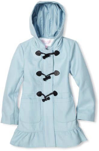 Jessica Simpson Coats Big Girls'  Hooded Toggle