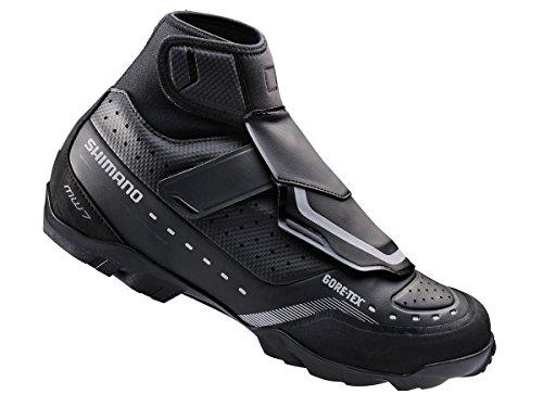 Shimano Mens Sh-Mw7 Mountain Bike Shoe Black mAyZBfSdr