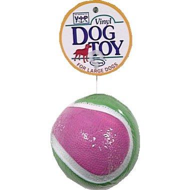 Vinyl Jumbo Tennis Ball – 5in, My Pet Supplies