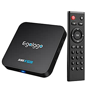 EgoIggo S95X Pro Android 6.0 Tv Box Amlogic S905X Quad Core ARM Cortex-A53,2 GB + 16 GB Wifi Smart Tv Box