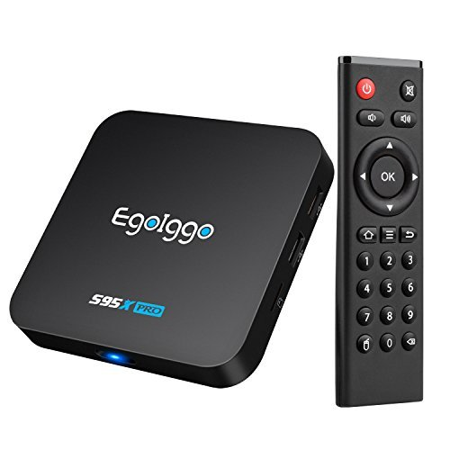 27 opinioni per [2GB/16GB/S905X] Android TV Box EgoIggo S95X Pro Android Box Amlogic S905X