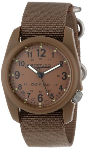 Bertucci Men's 11021 Durable Poly Resin Field Watch