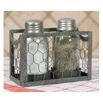 Favorite Amazon.com: Chicken Wire Salt and Pepper Holder: Salt And Pepper  ZN51