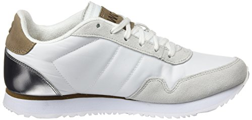 Woden Women's Nora Ii Trainers, Pink White (Bright Whit 300)