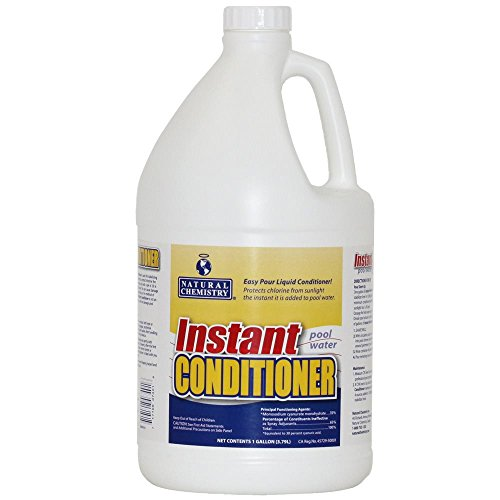 Natural Chemistry 07401 Instant Pool Water Conditioner 1 Gallon (Swimming Pool Water Chemistry)