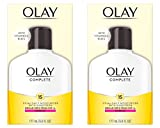 Olay Complete Lotion All Day Moisturizer with SPF 15 for Normal Skin, 6.0 fl oz, Pack of 2