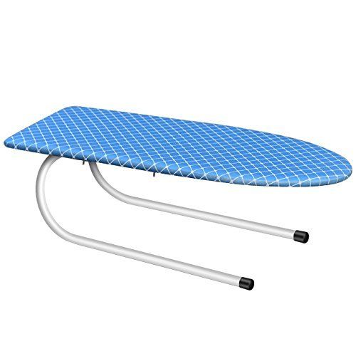 Paksima  Tabletop Mini Ironing Board with Folding Leg - Compact Design - Perfect for Dorms and Small Spaces - Stylish Folding Ironing Board with Cotton Cover – Best Gift Idea