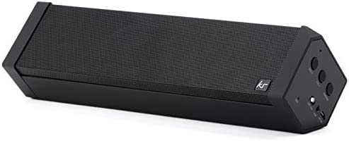 KitSound BoomBar 2 Universal Portable Bluetooth Wireless Speaker Compatible with Smartphones, Tablets and MP3 Devices – Black