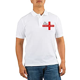 CafePress - St. George's Flag - Golf Shirt, Pique Knit Golf Polo