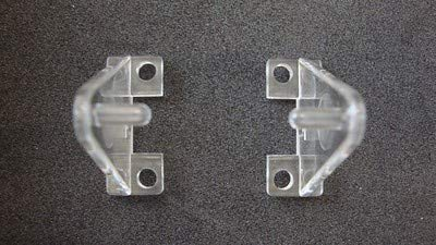 Hold Down Plastic Bracket For 2 inch Horizontal Blind- Pack of 10 - ()