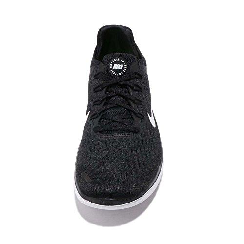 Nike RN 001 Chaussures Black Noir Free 2018 White Femme de Running r1wpr