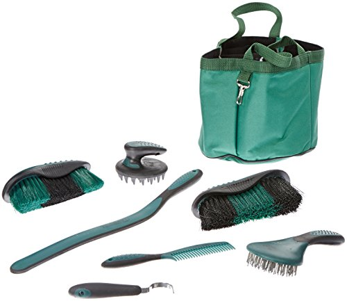 (Tough 1 Great Grip Grooming Package (8-Piece), Green)