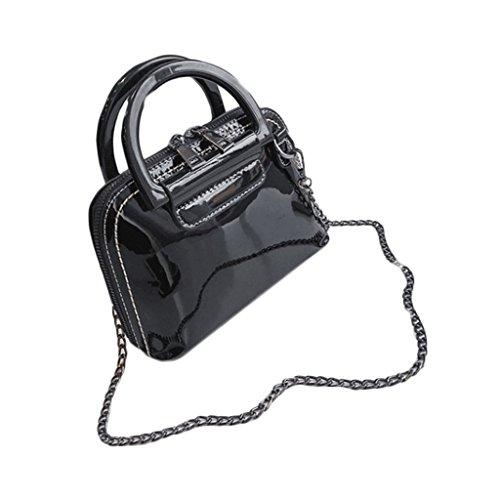 Shell Burgundy Bag voyage GJ Sacs Bag Sacs Lady femelle Sac Crossbody Couleur de Fashion Leisure PU bandoulière Portable Package wqcUvAqX1f