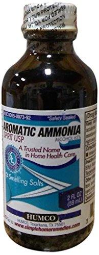 - Humco Aromatic Ammonia Spirit Usp 2 Oz