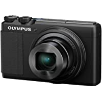 Olympus XZ-10 iHS 12MP Digital Camera with 5x Optical Image Stabilized Zoom and 3-Inch LCD (Black) - International Version (No Warranty)