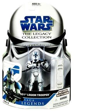 Star Wars Clone Wars Saga Legends Action Figure 501st Trooper ()