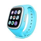 Kids Smartwatch, IFLYING Children Anti-lost Smart Watch with GPS Tracker (Blue)
