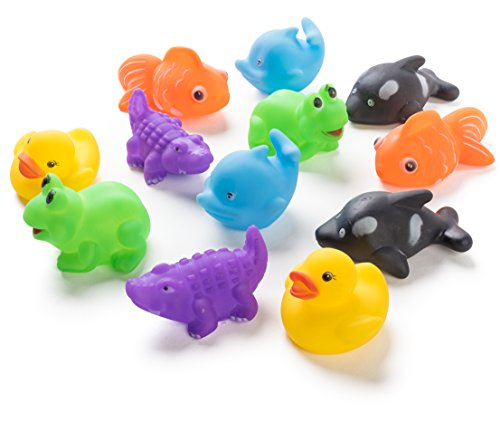 12 Pack Squirting Bath Toys 3