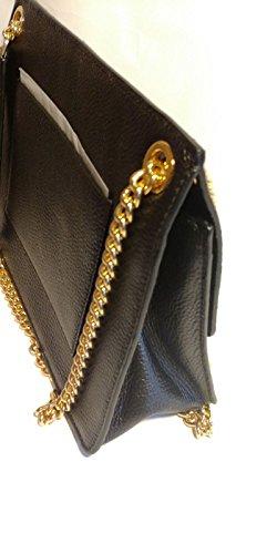 MICHAEL KORS bolsos de mano WHITNEY BLACK cue29X22X10cm new