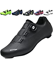 ziitop Men's Cycling Shoes,Mens Road Bike Shoes,Mountain Biking Shoes Breathable,Bike Shoes with Buckle,Mountain Bike SPD Shoes,Delta Cleat SPD Shoes,Lock Pedal Rider Shoes,Bicycle Shoes