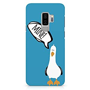 Loud Universe Blue Seagull finding Nemo Samsung S9 Plus Case Seagull Art work Samsung S9 Plus Cover with 3d Wrap around Edges