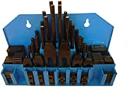 HHIP 3900-0002 58 Piece Clamping Kit (1/2 Inch T-Slot) Stud Size 3/8-16
