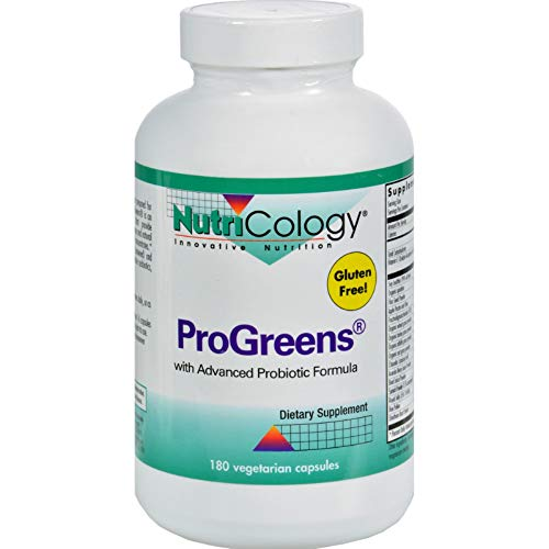 NUTRICOLOGY PROGREENS CAPS, 180 CAP, EA-1
