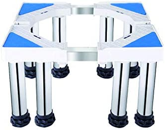 【Tamaño Ajustable y Capacidad de Carga】: Es una base telescópica que se puede ajustar vertical y hor