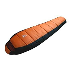 (Color : Orange) Outdoor Camping Sleeping Bags Autumn Winter Couple Sleeping Bags