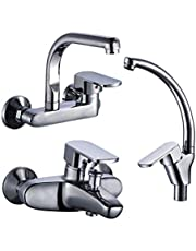 Italian Mixer Fitting Without Shower Head, 3 Pcs