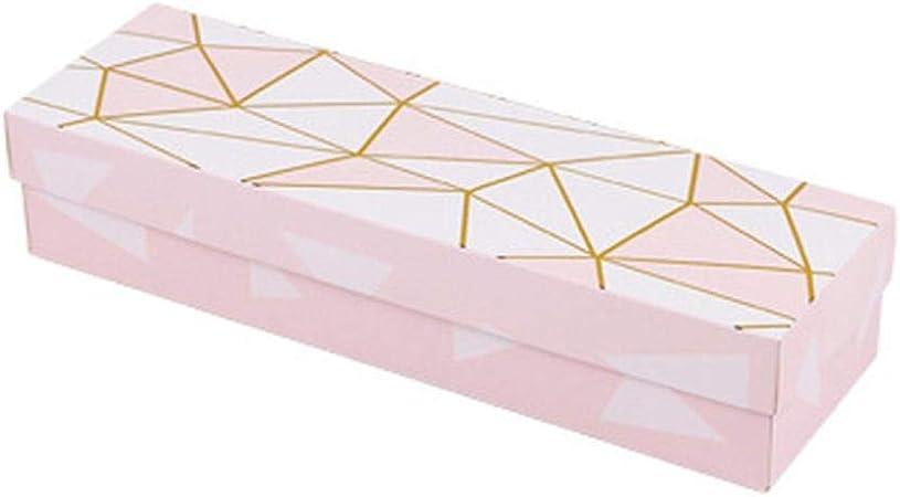 COMPY Caja de Regalo Bolsa de Papel de mármol Turrón Galletas Bolsas de Asas Boda Pastel de Chocolate Embalaje Cajas de Papel Artículos de Fiesta, C-8: Amazon.es: Hogar