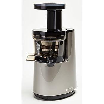 Hurom Premium Slow Juicer Model HU-700 Pearl White with Cookbook