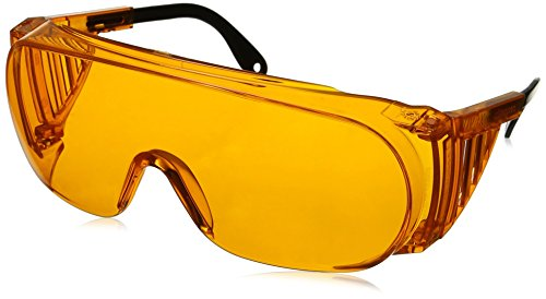 Uvex S0360X Ultra-spec 2000 Safety Eyewear, Orange Frame, SCT-Orange UV Extreme Anti-Fog (Frame Violet Lenses)