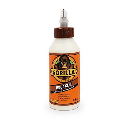- 236ml Gorilla Waterproof Wood Glue