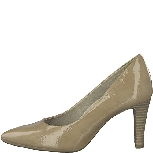 Tamaris Women's 22409-21 Court Shoes Nude Patent SsaHlssH