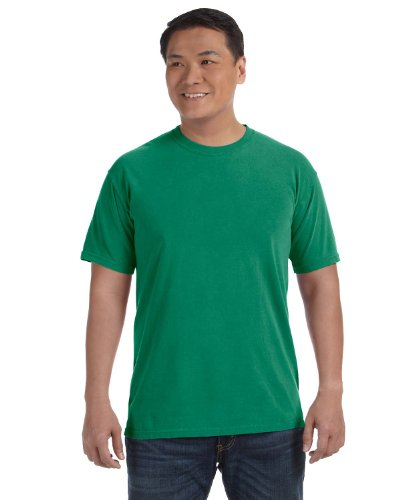 Comfort Colors 1717 Pigment-Dyed Short Sleeve Shirt (Grass, X-Large)