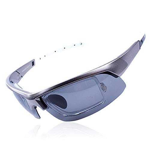 NuoEn Eye Protection Mirror Polarizing Driving Sunglasses Men and Women Sports Sunglasses Anti-Uv Goggles
