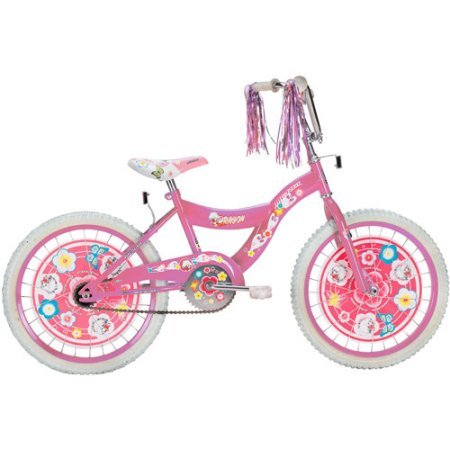 Girl's 20″ Dragon BMX Bike Color: Pink