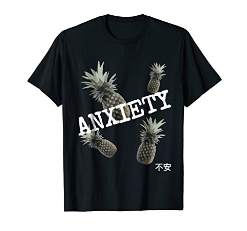 Aesthetic-Vaporwave-Pineapple-Anxiety-T-shirt-Otaku-Gift