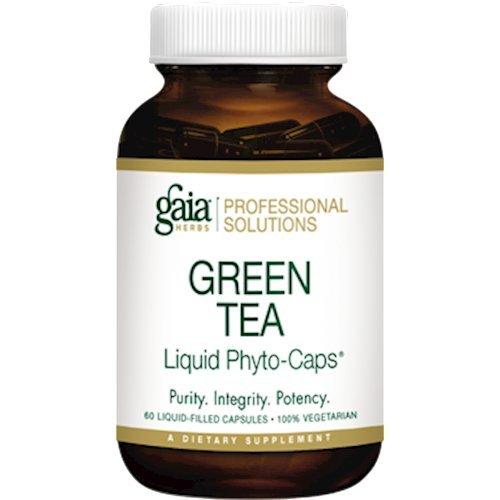 Gaia Herbs (Professional Solutions) Green Tea 60 lvcaps