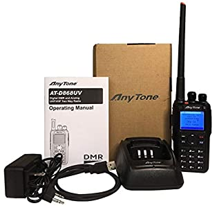 AnyTone AT-D868UV GPS Version II updated firmware Upgraded 3100mAh